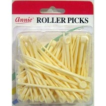 "Annie Plastic Roller Picks Pins Hair Roller Curler Rods Fixer Holds 3"" #... - $4.90"