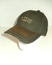 NEW 5.11 Tactical LA Police Gear Olive Brown Strapback Cap Hat - $16.00