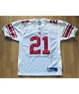 Reebok NFL New York Giants Tiki Barber #21 Sewn Football Jersey Size 46 EUC - $49.49