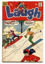Laugh #204 1968-Archie-Betty-Veronica-snow skiing-FN - $31.04