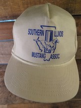 Southern Illinois MUSTANG Association Vintage Adjustable Adult Cap Hat - £18.70 GBP