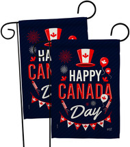 Canada Day - Impressions Decorative 2 pcs Garden Flags Pack GP137260-BOAE - $30.97