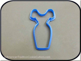 "4"" Dress 3D Printed Cookie Cutter - $3.00"