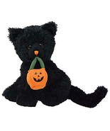 Jinxed The Black Cat with Pumpkin BBOM October 2007 MWMT Halloween Retired - $12.82