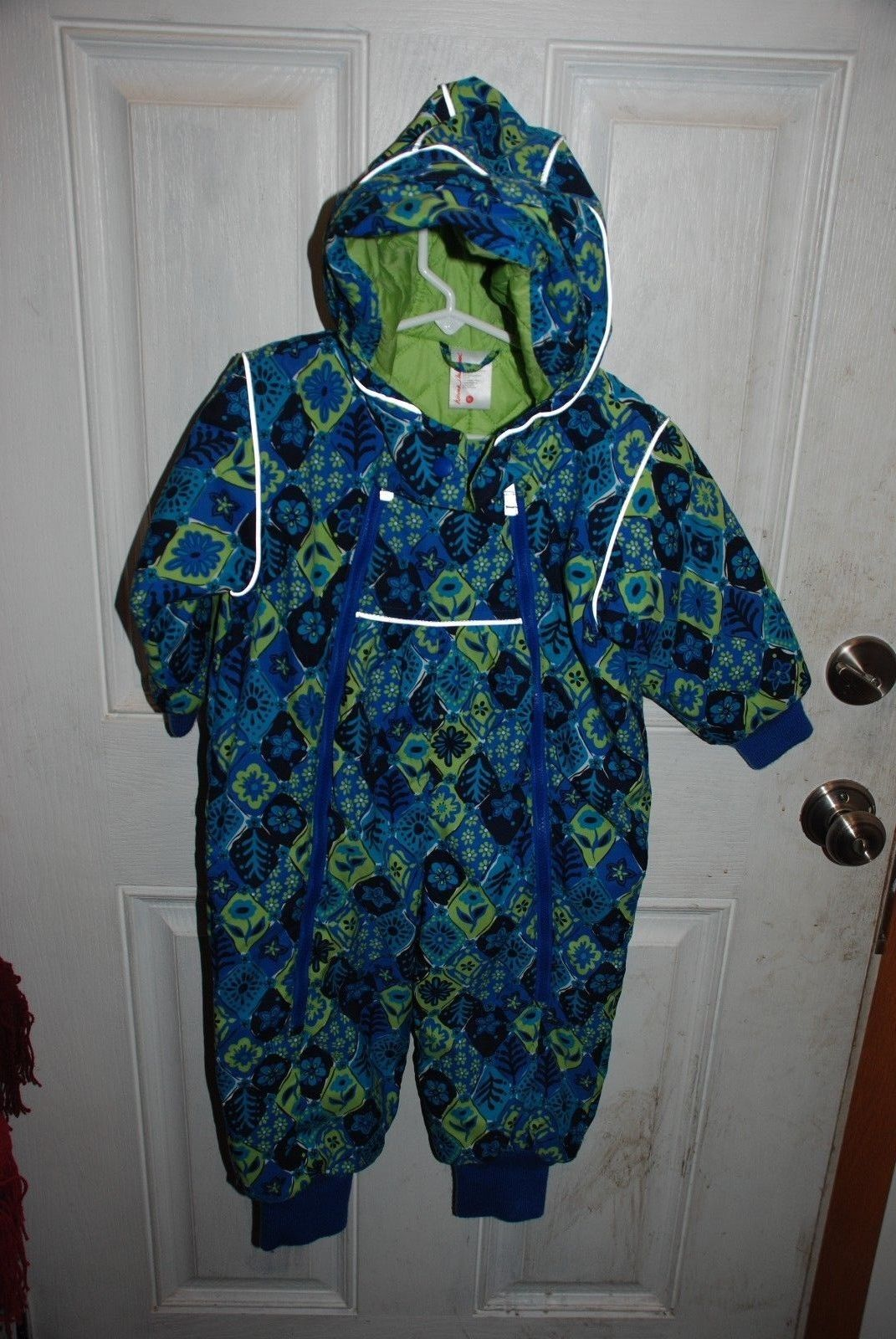 8ca19526d Hanna Andersson EUC Blue/Green Floral and 50 similar items