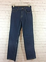 Wonder Nation Boys Jeans Size 14R Dark Blue Wash Straight Leg - $14.99