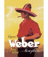 Weber Cigars - Art Print - $19.99+