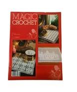 Vintage Magic Crochet Tricot # 26 Pattern Knitting Magazine Table Runner... - $9.49
