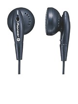 Pioneer SE-CE10-XK Open-Air Dynamic In-Ear Headphones w/ Bass Boost Duct - $56.42 CAD