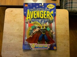 Nib Marvel Collector Editions 1997 Avengers The Mighty Thor Action Figure - $17.81