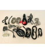 Electrical Mixed Lot HDMI Coaxial TV Television Cables Connectors Cords - $17.99