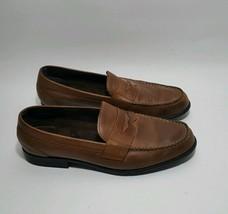 Rockport trutech walkability Slipon Loafers Brown Genuine Leather US men... - $34.65