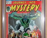 Journey Into Mystery #1 CGC Qualified NM- 9.2 1972