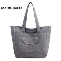 Large Capacity Canvas Tote Shoulder Bags Solid Women Handbags SALE Fall ... - $115.31 CAD