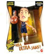 Keith Van Horn 1999 Mattel NBA Ultra Jams New Jersey Nets Figure Sealed - $15.79