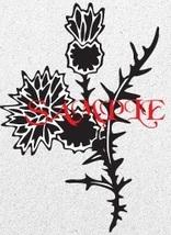 Scottish Thistle Single Colour PDF Cross Stitch Chart - $8.00