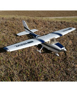 RC plane Cessna 182 1410mm wingspan 6ch with flaps led light epo KIT (ai... - $122.93