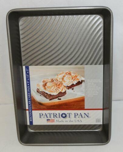 Patriot Pan 1110RCTAR Rectangular Non Stick Bakeware Nine By Thirteen