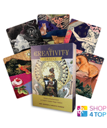 THE CREATIVITY ORACLE CARDS SET DECK SCHIFFER PUBLISHING ZERNER FARBER M... - $63.65