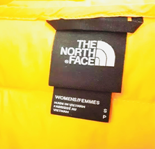 NWT The North Face Hyalite Down Hoodie Hoody Jacket Women Yellow Small image 3