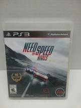 Need for Speed: Rivals (Sony PlayStation 3, 2013) Complete with Manual - $12.00