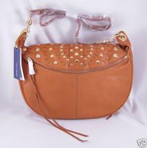 Rebecca Minkoff Lovespell Roadie Crossbody Bag TAN NWT - $408.97