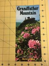 Vintage Brochure Grandfather Mountain North Carolina's Top Scenic Attrac... - $19.55