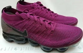 NIKE WOMENS AIR VAPORMAX FLYKNIT 2 Raspberry Red Black Shoes 942843-603 ... - $197.95