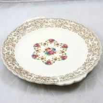 Sebring Ohio Pottery Platter 22K Gold Trim   - $25.47