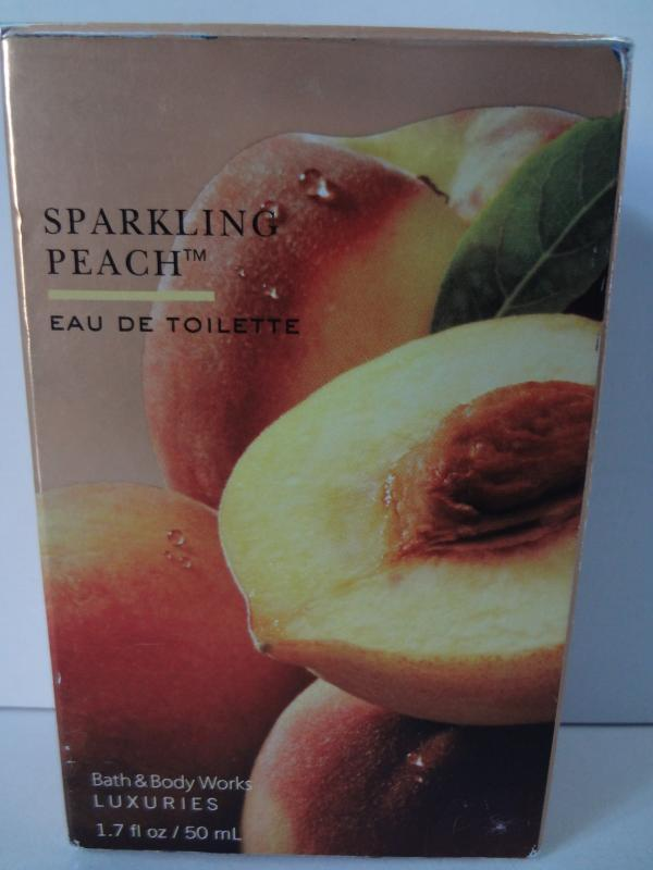 Bath & Body Works Luxuries Sparkling Peach Eau de Toilette 1.7 oz (50 ml)