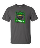 Sour Diesel 420 Strain Logo Cannabis T-Shirt Stoner Hippie Marijuana Wee... - $13.49+