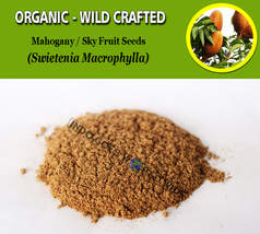 POWDER Mahogany Sky Fruits Swietenia Mahagoni Organic Wild Crafted Fresh... - $7.85+