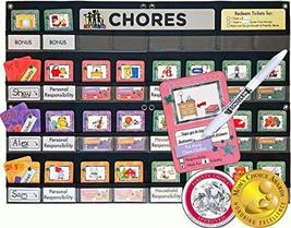 NEATLINGS Chore Chart System | 1-3 Kids | 80+Chores | Purple, Pink, Oran... - $68.95