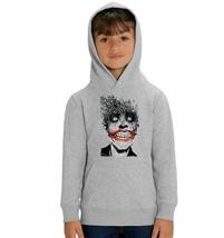 DC Comics The Joker Bat Scatter Children's Unisex Grey Hoodie - $23.82