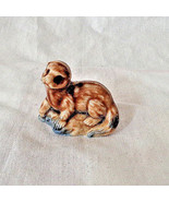 Vintage Wade England Weasel Figurine Whimsies Red Rose Tea - $9.49