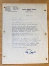 71 Letter Signed California Democrat Senator Alan Cranston Autographed K... - $59.99