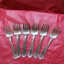 Rogers Alhambra Salad/Dessert Forks 6 - $60.00