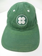 Green 4 Leaf Clover Adjustable Adult Ball Cap Hat - $12.86