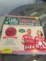 Brand New Ugly Christmas Sweater Kid Red Small Make Your Own!!! - $19.79
