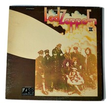 Led Zeppelin II 1969 Vinyl Record SD 8236, ST-A 691671-MO Atlantic Records - $25.00