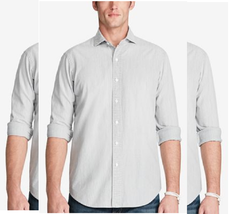 Polo Ralph Lauren Men's Slim Chambray Shirt, Gray, Size L, MSRP $125 - $69.29