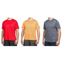 NWT Reebok Mens' Active Speedwick Relaxed Fit Soft Knit T-Shirt+Hidden p... - $24.99+