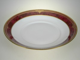 Spode Bordeaux Saucer For Flat Cup - $9.46