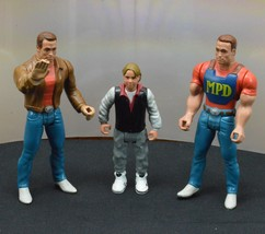 Last Action Hero Arnold Schwarzenegger Movie Action Figure Lot 1993 Mattel - $9.99