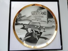 Porky Pig Welcome to Wackyland Warner Brothers Collector Plate 25 of 5000 - $24.99