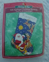New Vintage Bucilla And To All a Goodnight Christmas Stocking Kit #84340 Circa - - $44.99