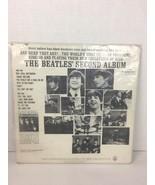 The Beatles Second Album Mono T 2080 Blue Insert No Track Time 1st Run S... - $24.29