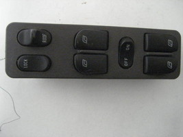 Drivers Master Window Switch Saab 9-3 1999 99 00 01 02 Hatchback Sunroof 47681 - $33.07
