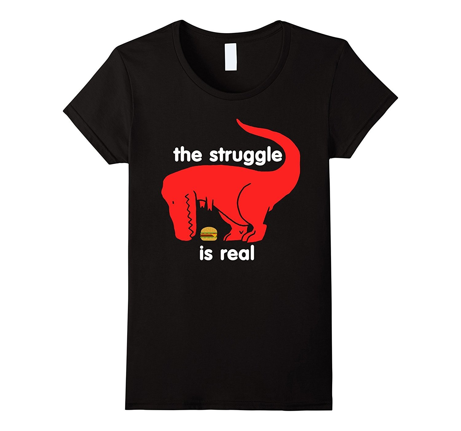 T Rex The Struggle Is Real T Shirt Funny T Rex T Shirt Women for sale  USA