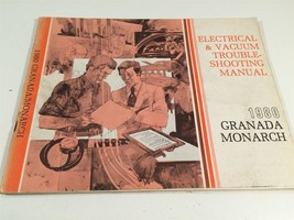 1980 Ford Granada Monarch Electrical & Vacuum Trouble Shooting Manual - $11.99
